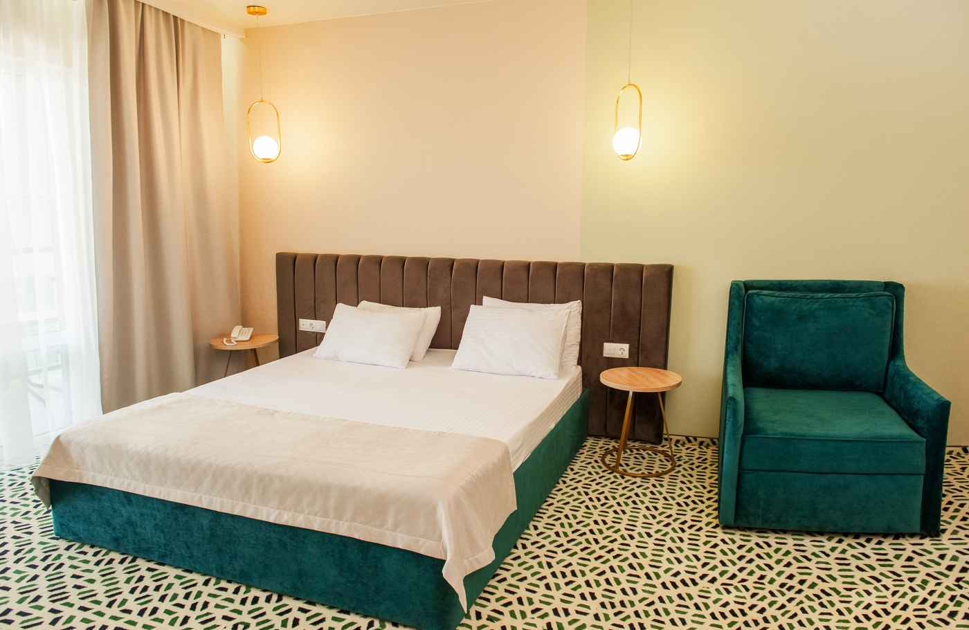 Отель «Aurum Family Resort & Spa» Краснодарский край Junior suite 2-местный , фото 5