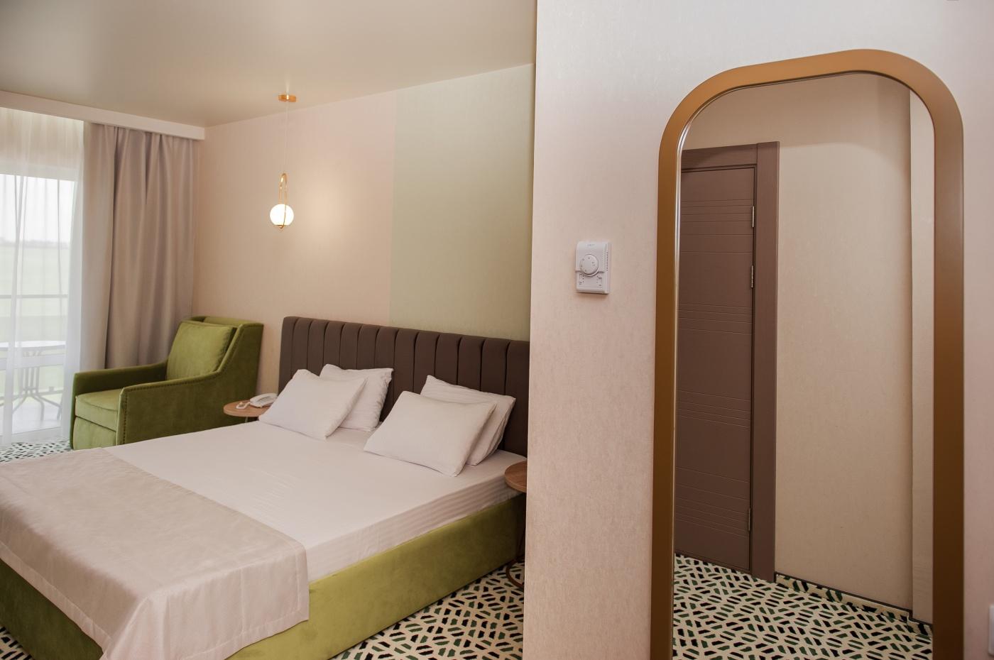 Отель «Aurum Family Resort & Spa» Краснодарский край Family room 4-местный 2-комнатный, фото 4