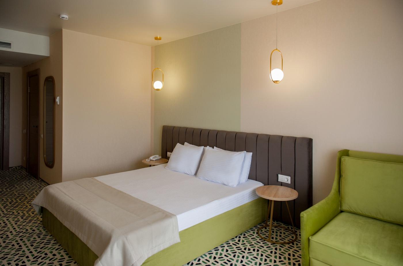 Отель «Aurum Family Resort & Spa» Краснодарский край Standard 2-местный (в корпусе), фото 2