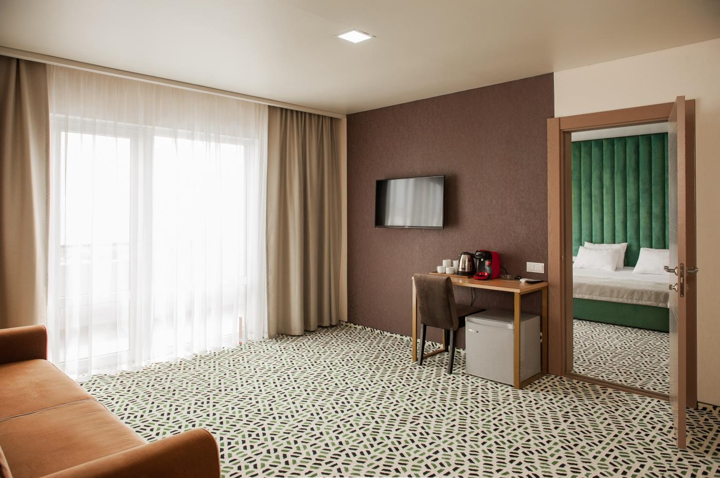 Отель «Aurum Family Resort & Spa» Краснодарский край Apartments Superior 2-местный 4-комнатный, фото 2