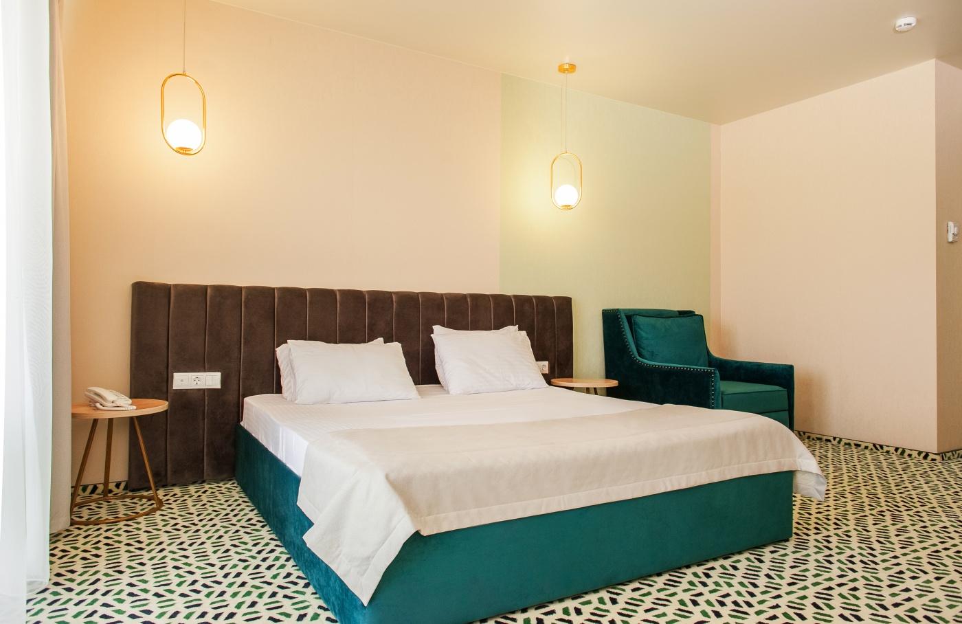 Отель «Aurum Family Resort & Spa» Краснодарский край Junior suite 2-местный , фото 9