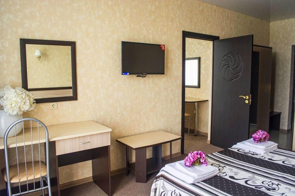 Семейный отель «Акварель» Краснодарский край Семейный 2-комнатный, фото 3