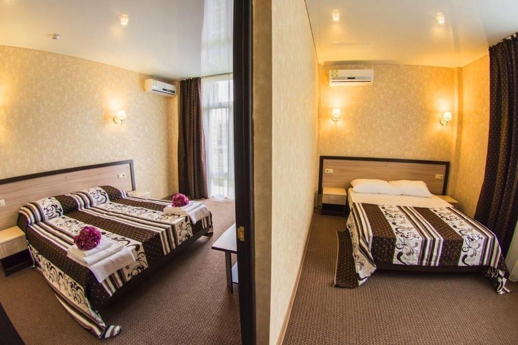 Семейный отель «Акварель» Краснодарский край Семейный 2-комнатный, фото 4