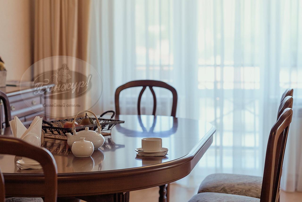 Отель «Бонжур» Краснодарский край Студия «Гранд» 3-местная, фото 3