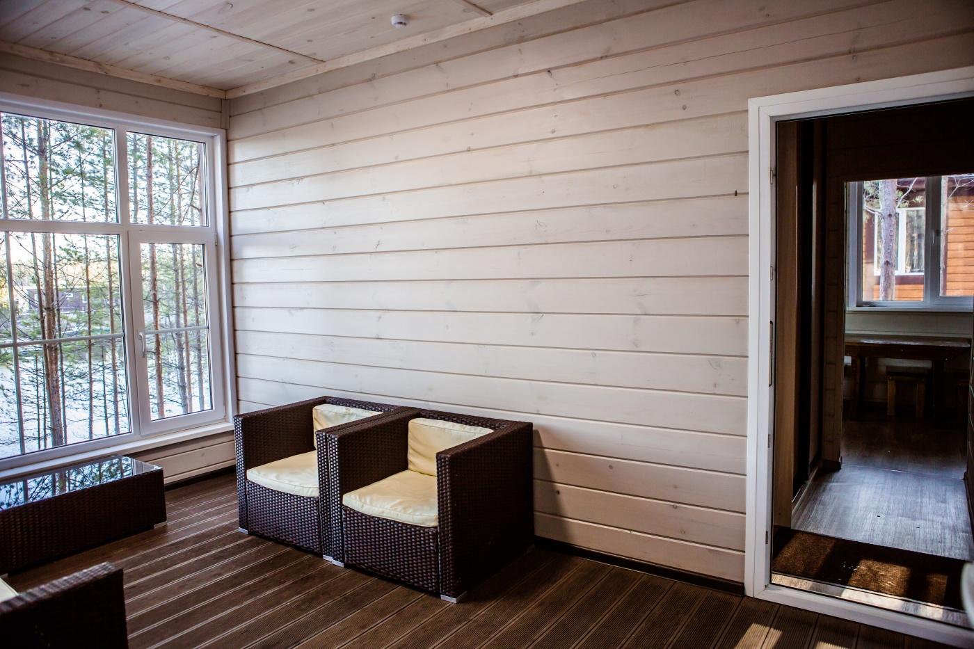 База отдыха «MariLand» Республика Марий Эл Номер «Люкс» в гостевом доме, фото 4