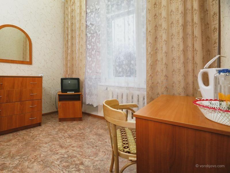 Санаторий «Воробьево» Калужская область Номер 1-местный 1-комнатный «Стандарт +», фото 2