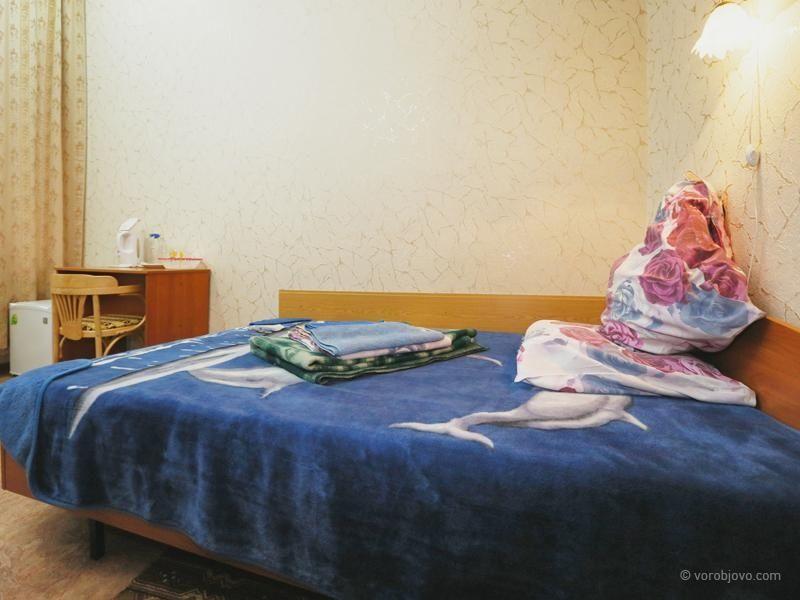 Санаторий «Воробьево» Калужская область Номер 1-местный 1-комнатный «Стандарт +», фото 1