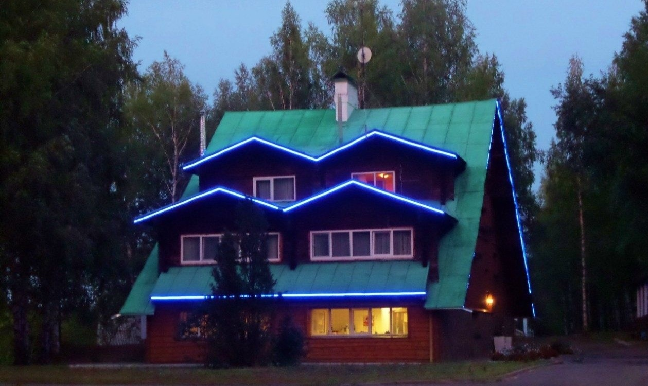 Туристический комплекс «Камские дали» Удмуртская Республика Номер 4-местный в гостинице «Теремок», фото 1