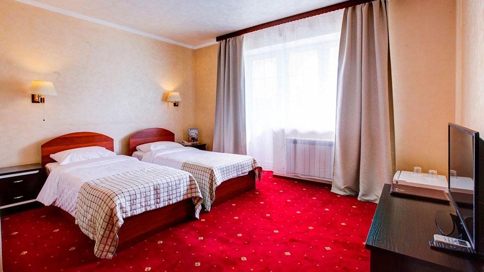 Отель «Голицын клуб» Московская область Номер «Комфорт» с двумя кроватями, фото 1