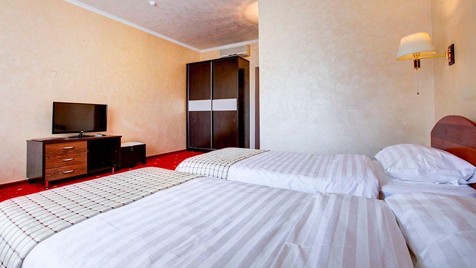Отель «Голицын клуб» Московская область Номер «Комфорт» с двумя кроватями, фото 3
