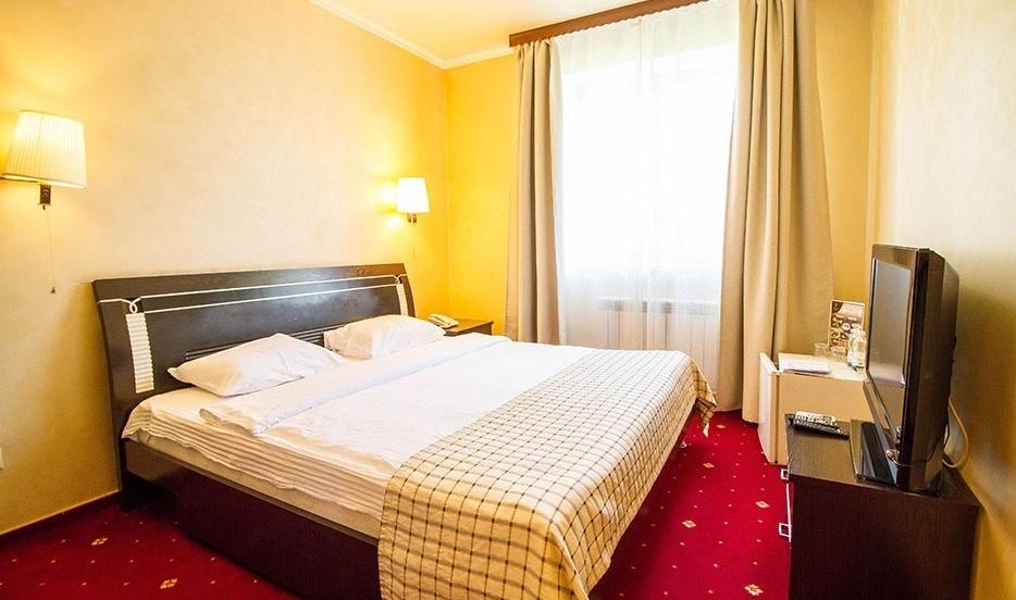 Отель «Голицын клуб» Московская область Стандартный 2-местный номер с одной кроватью, фото 1