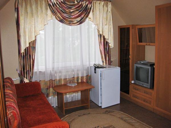 """Загородный отель """"Старый двор"""" Владимирская область Люкс 2-х комнатный евро, фото 3"""