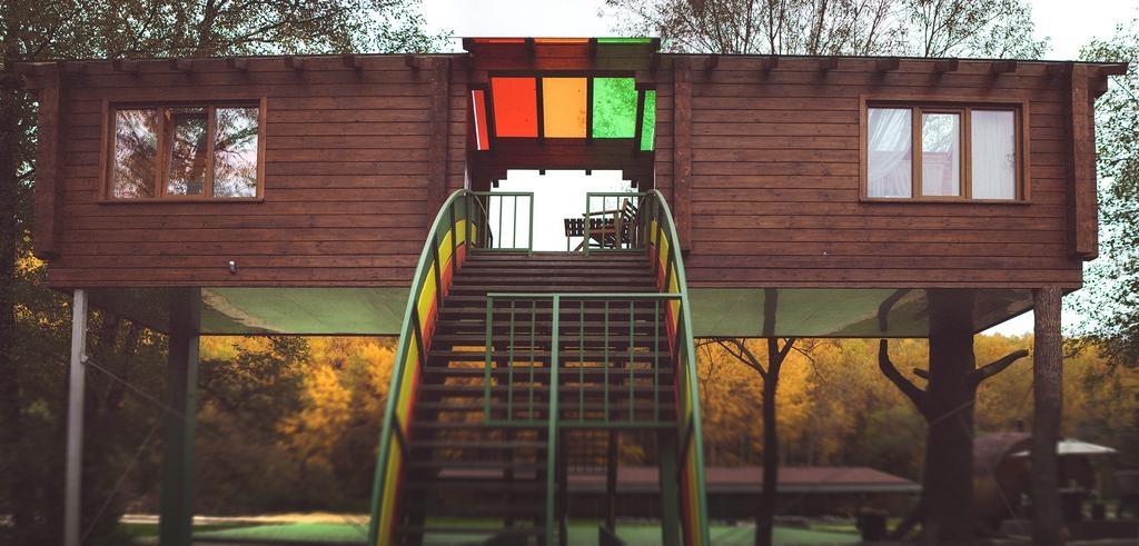 Центр отдыха «Берхино» Московская область Дом на радуге («Облако любви»), фото 1