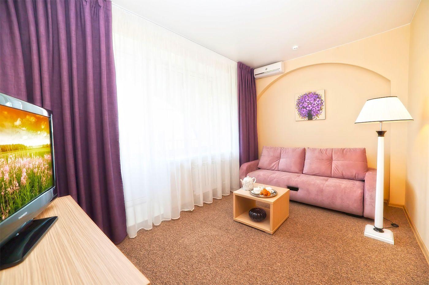 Парк-отель «Воздвиженское» Московская область Номер «Полулюкс 2-комнатный», фото 5