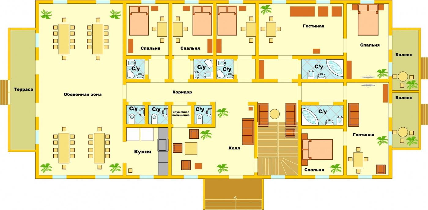 Загородный гостиничный комплекс «Алексино-Истра» Московская область Коттедж (950 м), фото 21