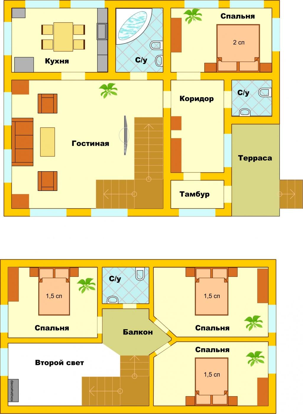 Загородный гостиничный комплекс «Алексино-Истра» Московская область Коттедж (120 м), фото 10