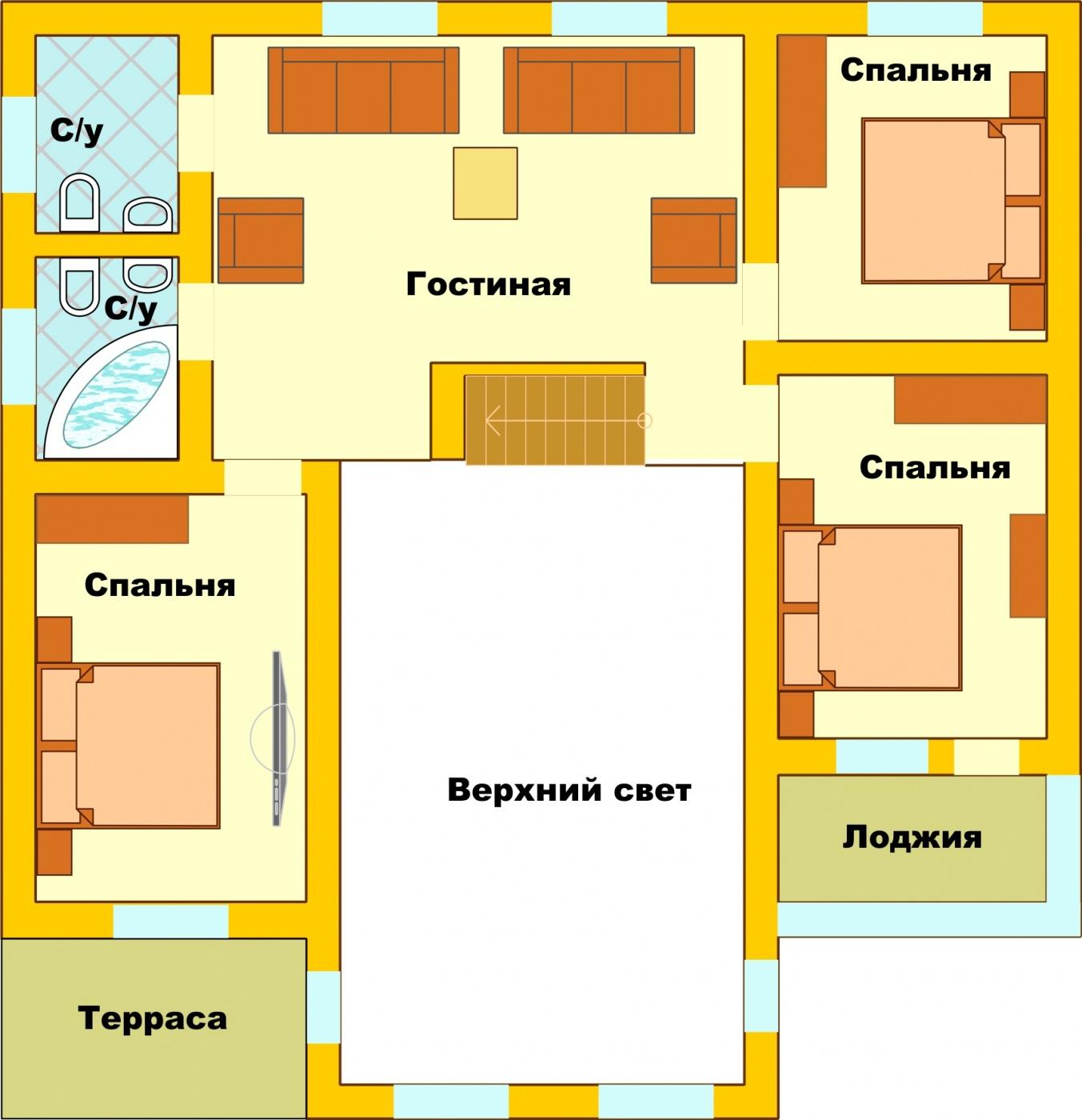 Загородный гостиничный комплекс «Алексино-Истра» Московская область Коттедж (300 м), фото 14