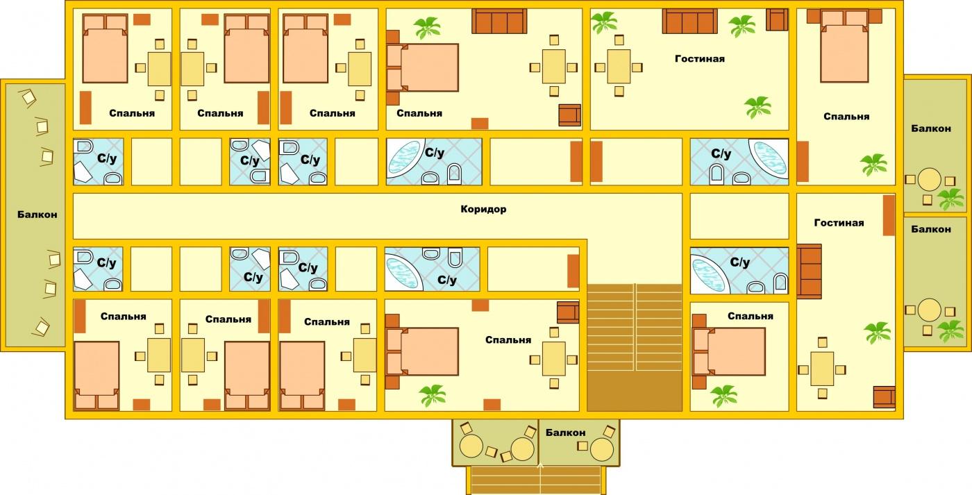 Загородный гостиничный комплекс «Алексино-Истра» Московская область Коттедж (950 м), фото 20