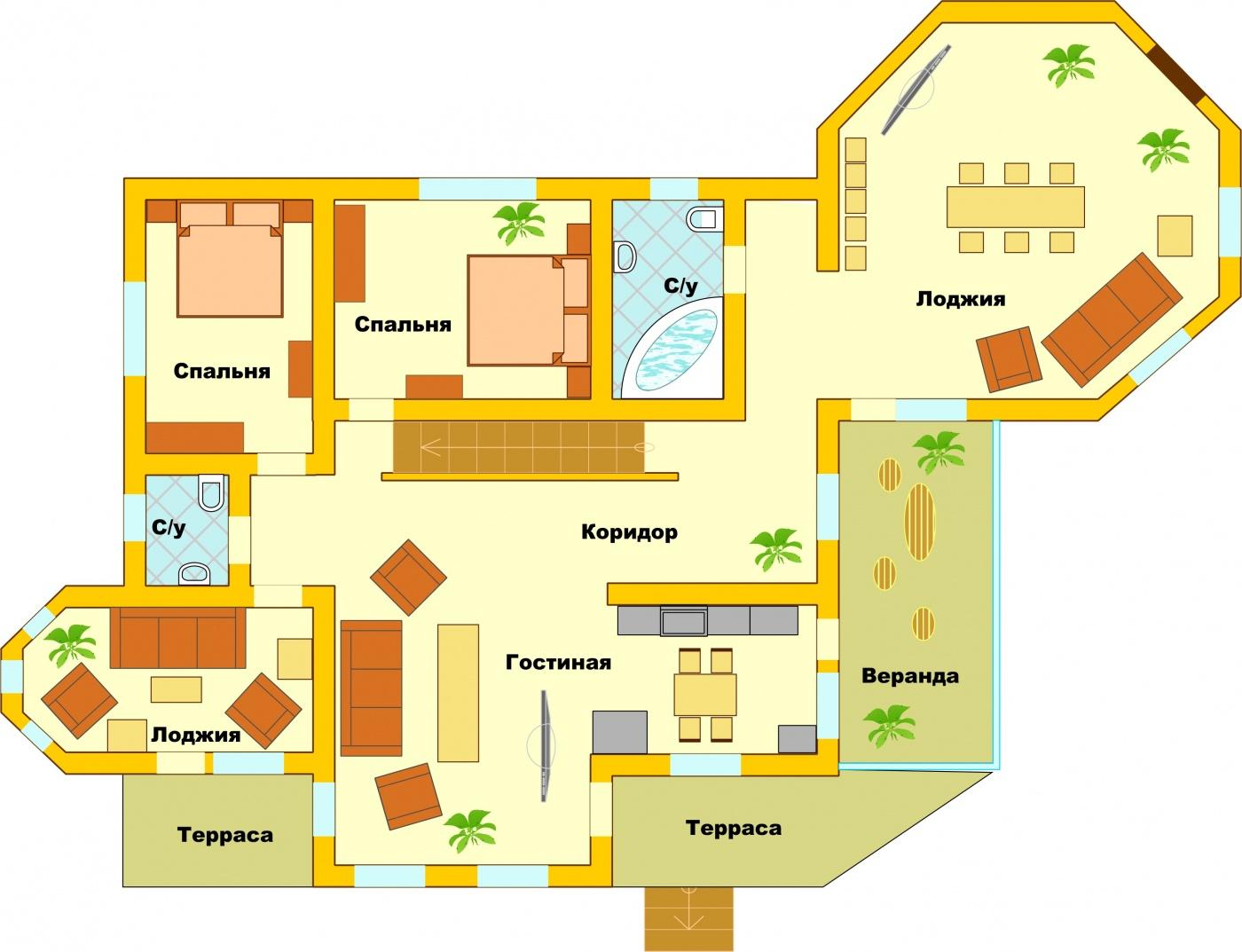 Загородный гостиничный комплекс «Алексино-Истра» Московская область Коттедж (300 м), фото 15