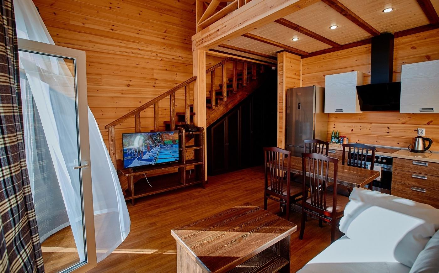 Клуб-отель «Золотой пляж» Челябинская область Номер «Lux Apartment» (Дом О.Митяева), фото 3