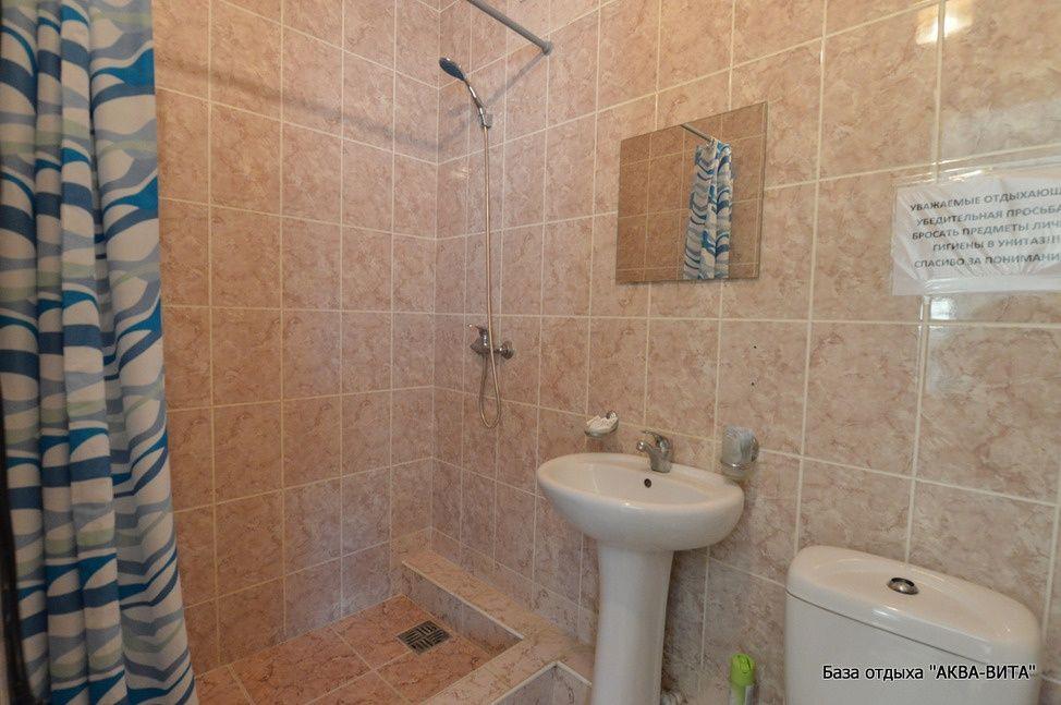 """База отдыха """"Аква-Вита"""" Краснодарский край 1-комнатный номер """"стандарт"""" (3 спальных места), фото 3"""