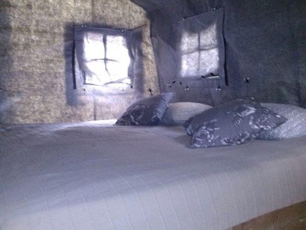 Эко-отель «Лес» Ленинградская область Теплый шатер, фото 3