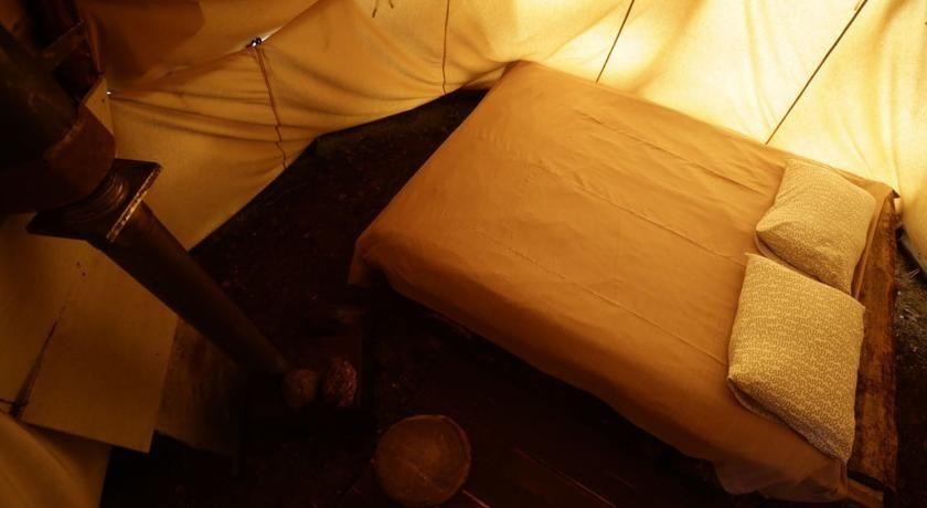 Эко-отель «Лес» Ленинградская область Типи с одной кроватью, фото 3