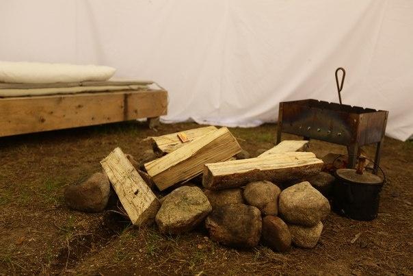 Эко-отель «Лес» Ленинградская область Типи с двумя кроватями, фото 4