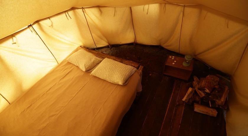 Эко-отель «Лес» Ленинградская область Типи с одной кроватью, фото 4
