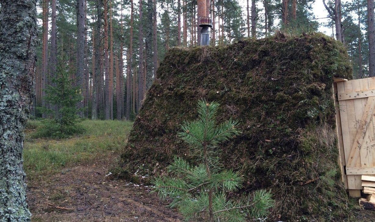 Эко-отель «Лес» Ленинградская область Шалаш «У Феди», фото 1