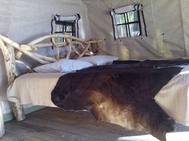 Эко-отель «Лес» Ленинградская область Теплый шатер, фото 2