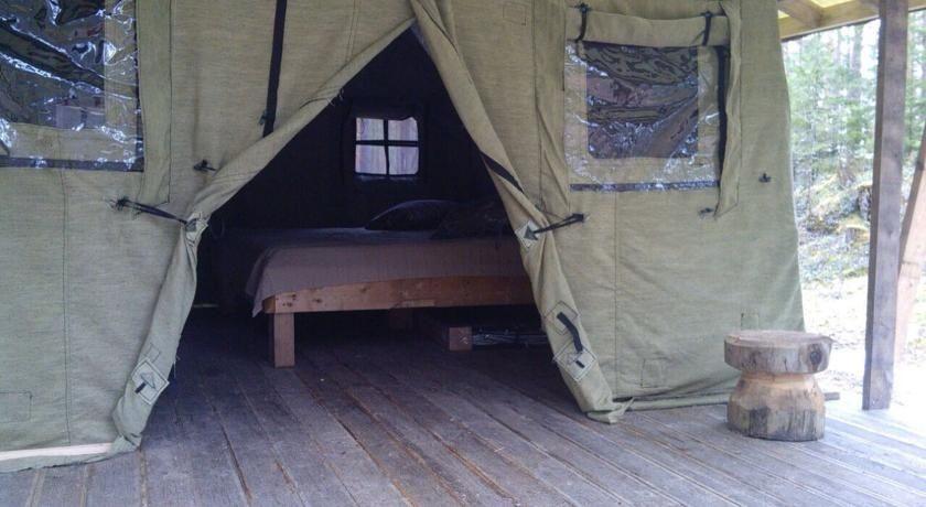 Эко-отель «Лес» Ленинградская область Теплый шатер, фото 1