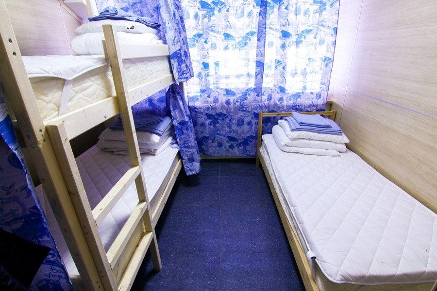 Хостел «Круиз» Калужская область Спальное место в общей каюте, фото 1