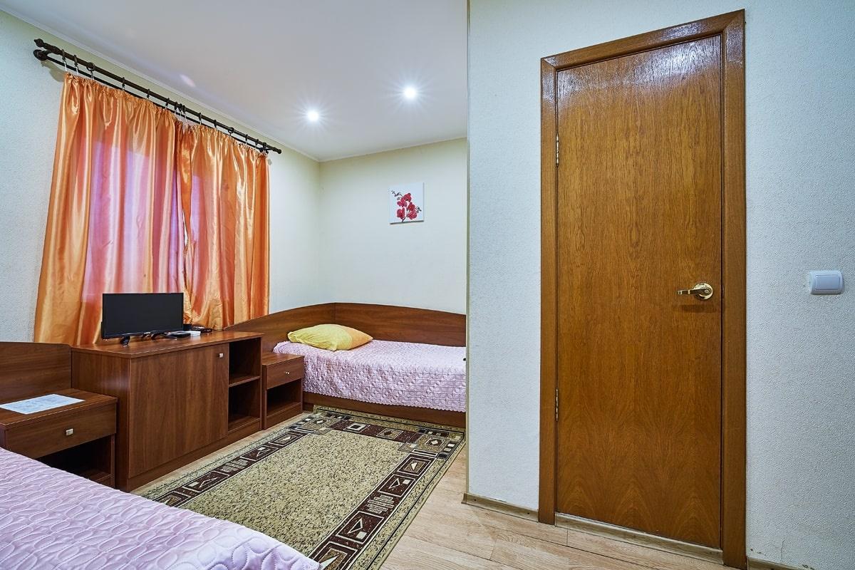 База отдыха «Zubovo Village Club» Московская область Номер «Стандарт» с двумя кроватями, фото 2