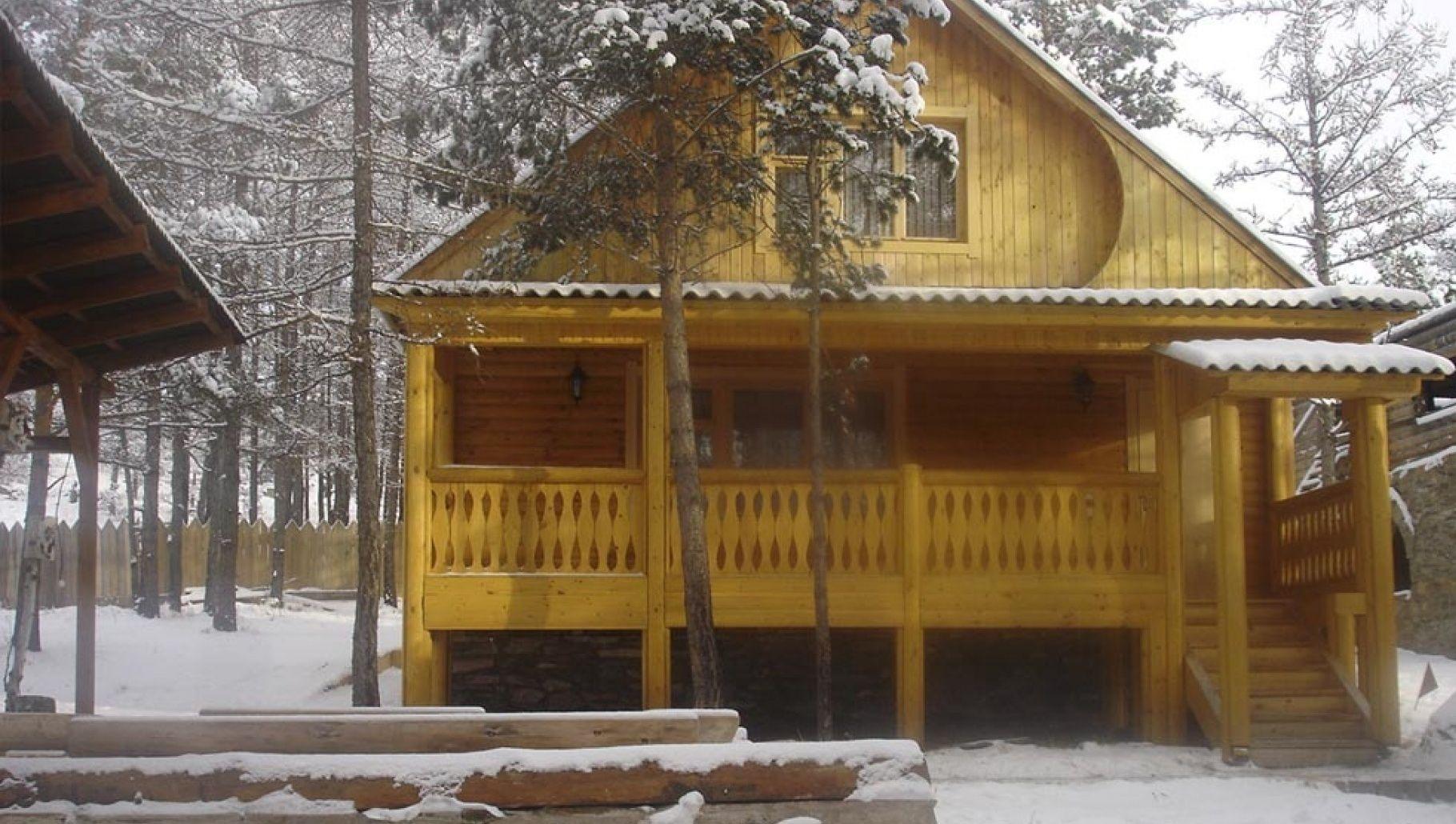 """База отдыха """"Оленье озеро"""" Республика Хакасия 7-ми местный домик, фото 1"""
