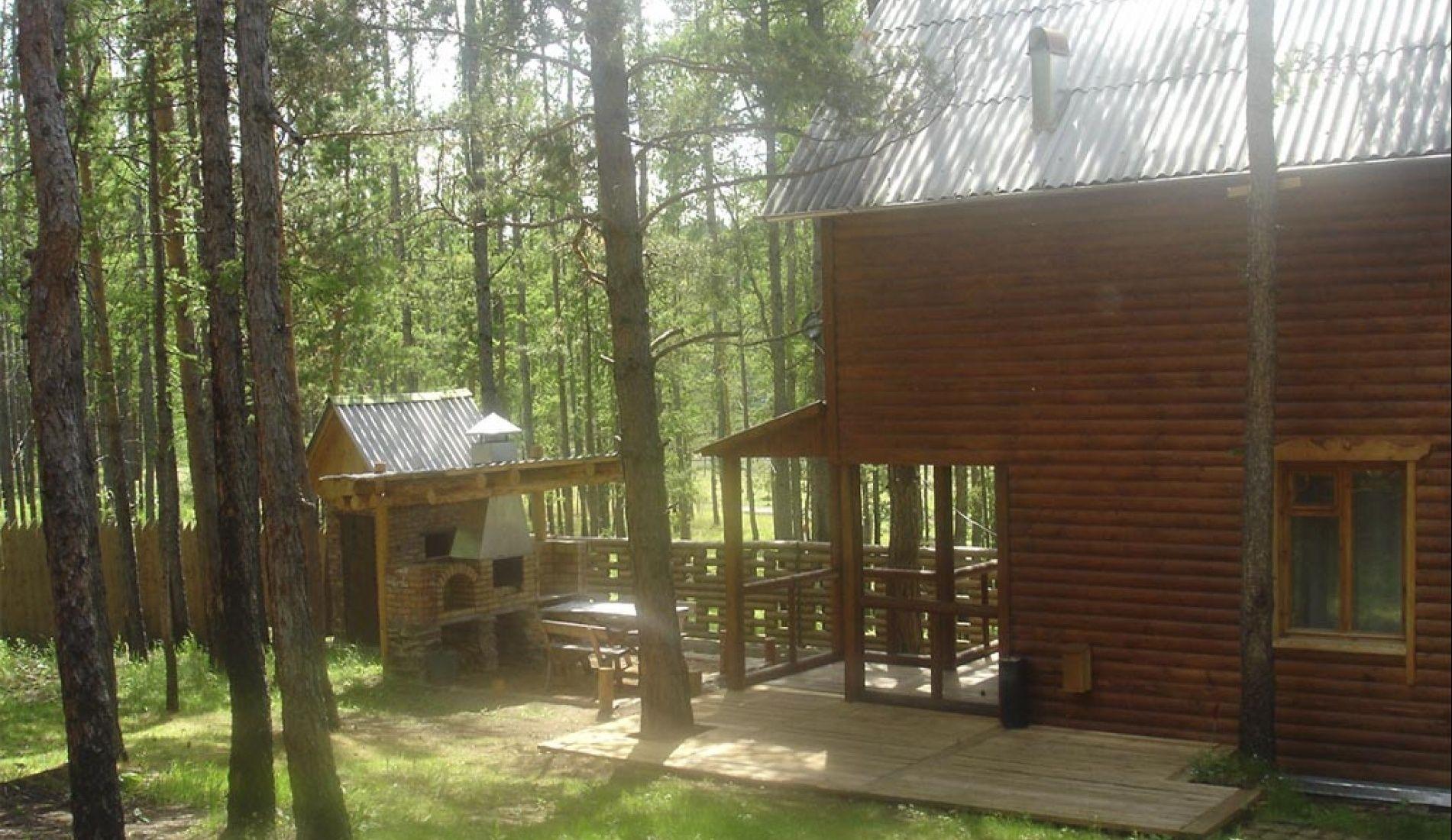 """База отдыха """"Оленье озеро"""" Республика Хакасия 6-ти местный домик, фото 1"""