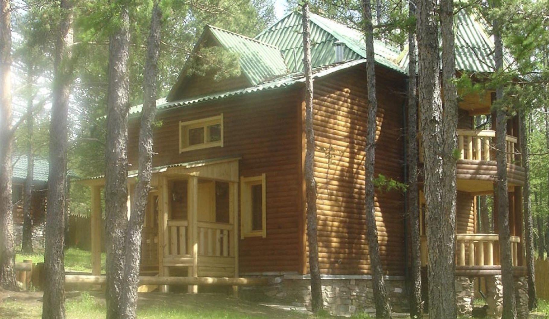 """База отдыха """"Оленье озеро"""" Республика Хакасия 10-ти местный домик, фото 2"""