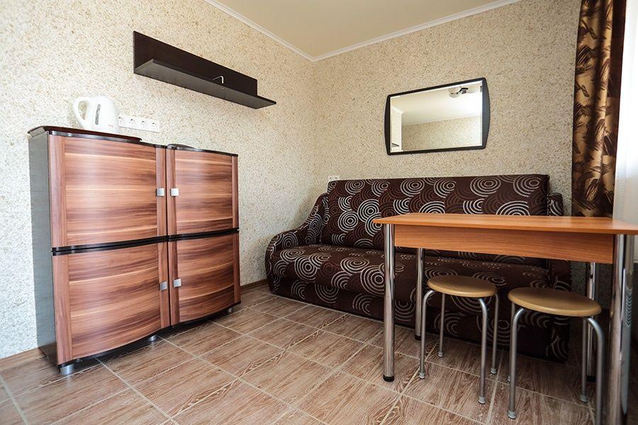 База отдыха «Золотые барханы» Астраханская область 2-местный номер повышенной комфортности (3 линия), фото 4