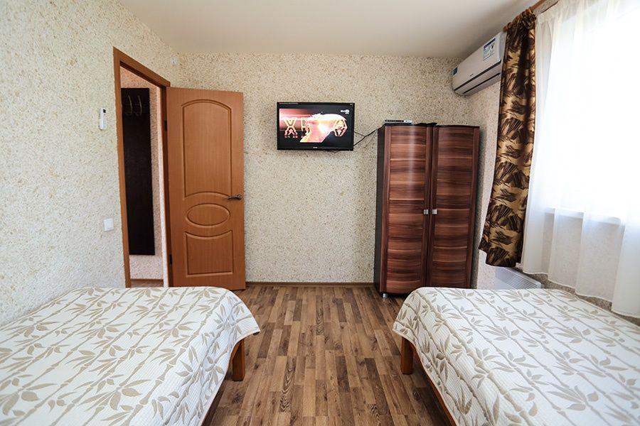 База отдыха «Золотые барханы» Астраханская область 2-местный номер повышенной комфортности (3 линия), фото 3