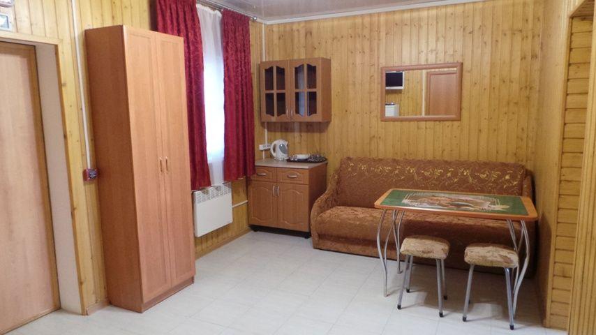База отдыха «Золотые барханы» Астраханская область 4-местный дом (1 линия), фото 6