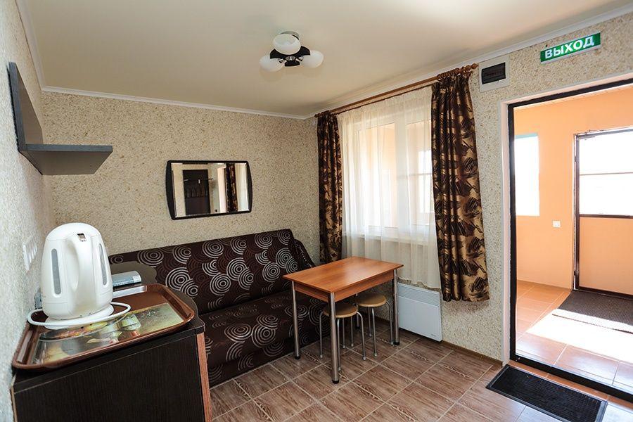 База отдыха «Золотые барханы» Астраханская область 2-местный номер повышенной комфортности (3 линия), фото 5