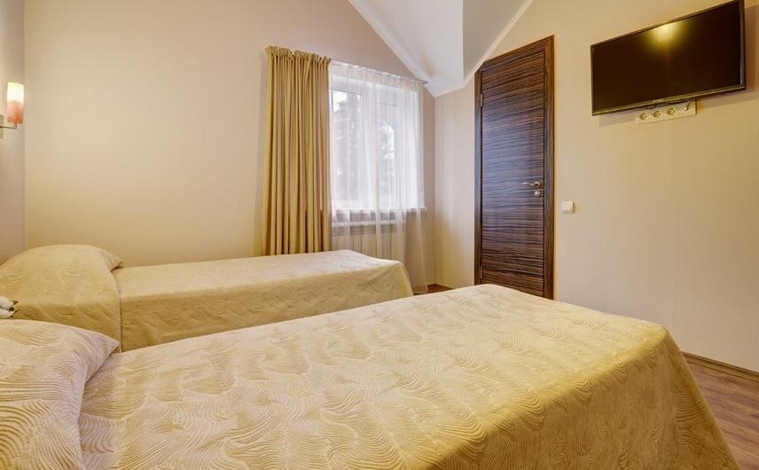Загородный отель «Valesko Hotel & Spa» Московская область 1-комнатный 2-местный номер «Эконом» (корпус 5), фото 4