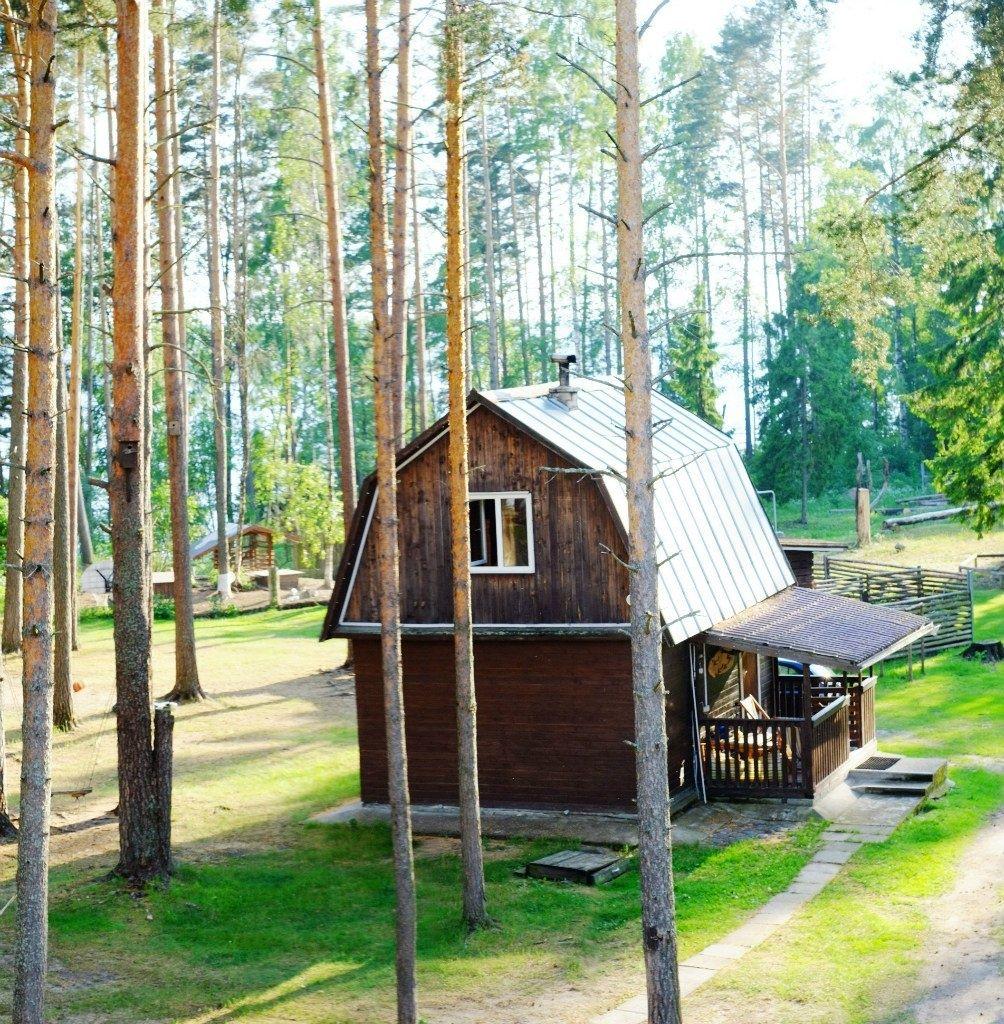 База отдыха «Тихая долина» Ленинградская область 4-местный коттедж , фото 1