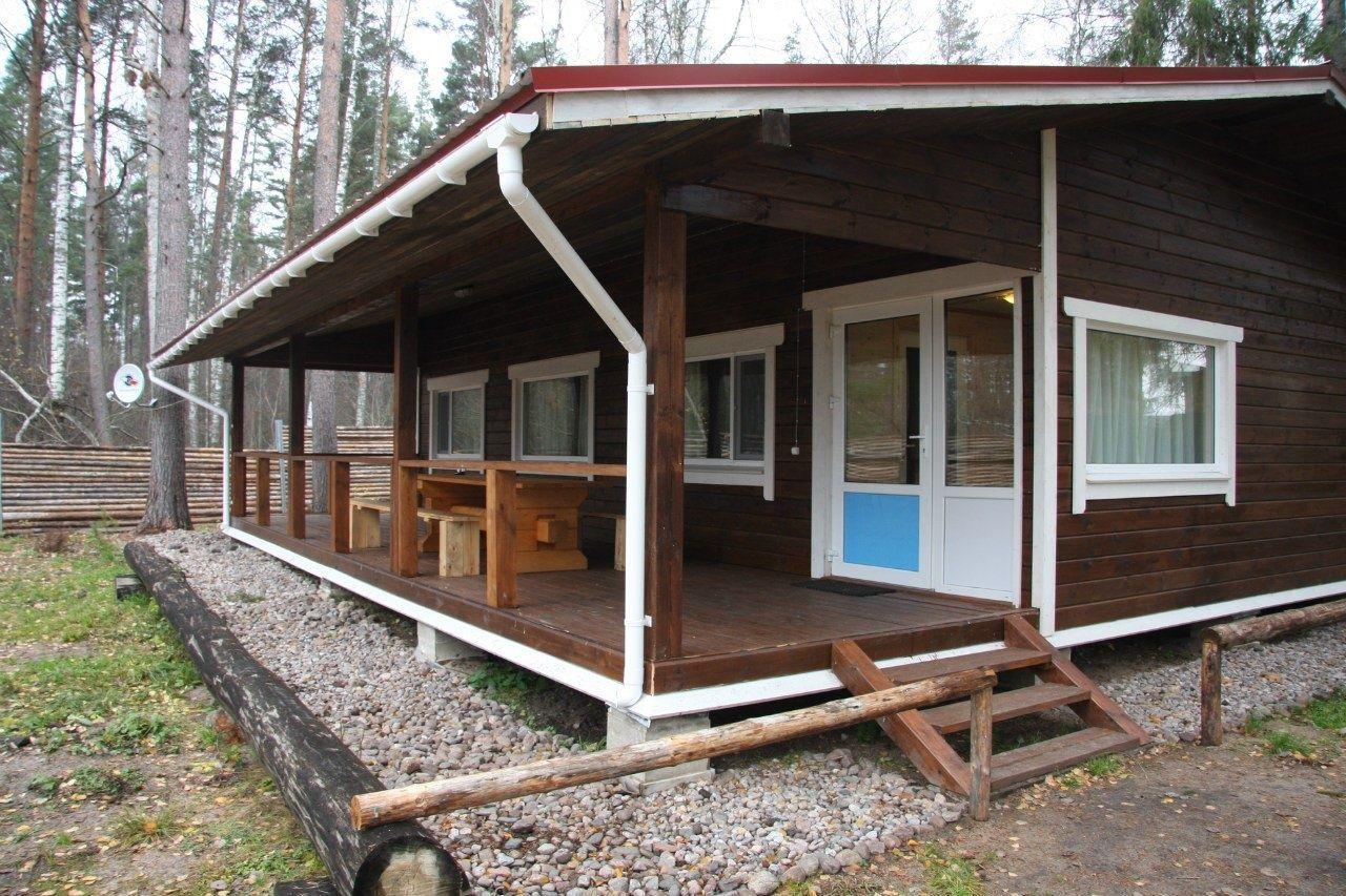 База отдыха «Тихая долина» Ленинградская область 4-местный коттедж «Люкс», фото 1