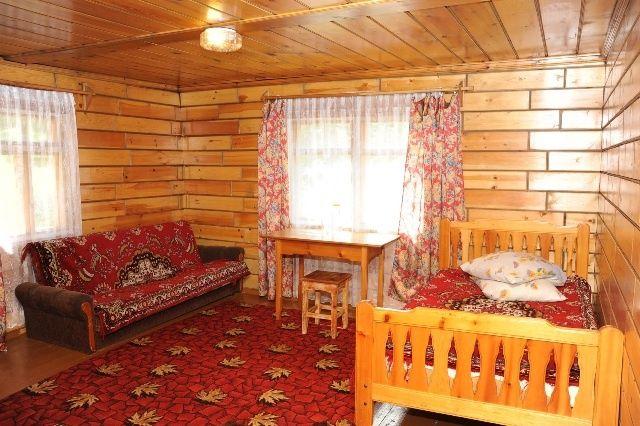 """Турбаза """"Снежный барс"""" Республика Хакасия 3-х местный домик №9- 10, фото 2"""