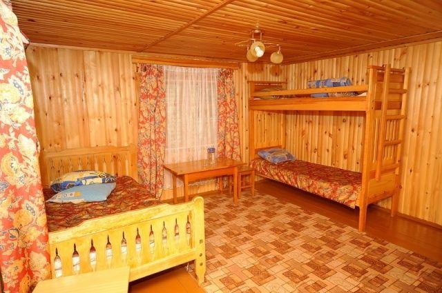 """Турбаза """"Снежный барс"""" Республика Хакасия 3-х местный домик №7- 8, фото 2"""