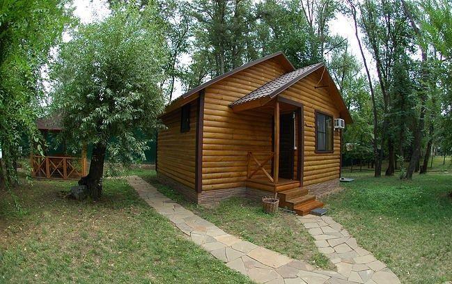 База отдыха «Лесная» Волгоградская область 3-местный дом, фото 1