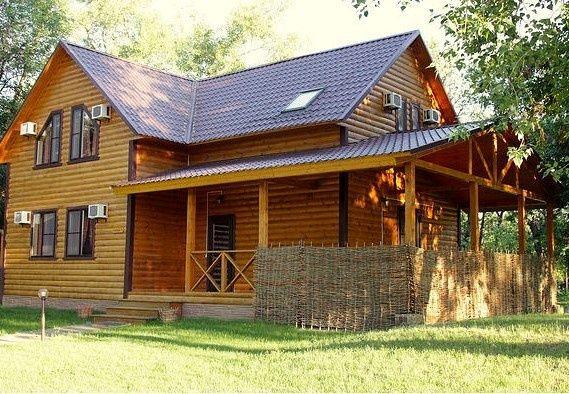 База отдыха «Лесная» Волгоградская область 12-местный дом, фото 1