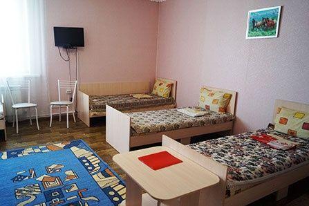 Гостиница «Расул Кош-Агач» Республика Алтай Шестиместный номер, фото 4