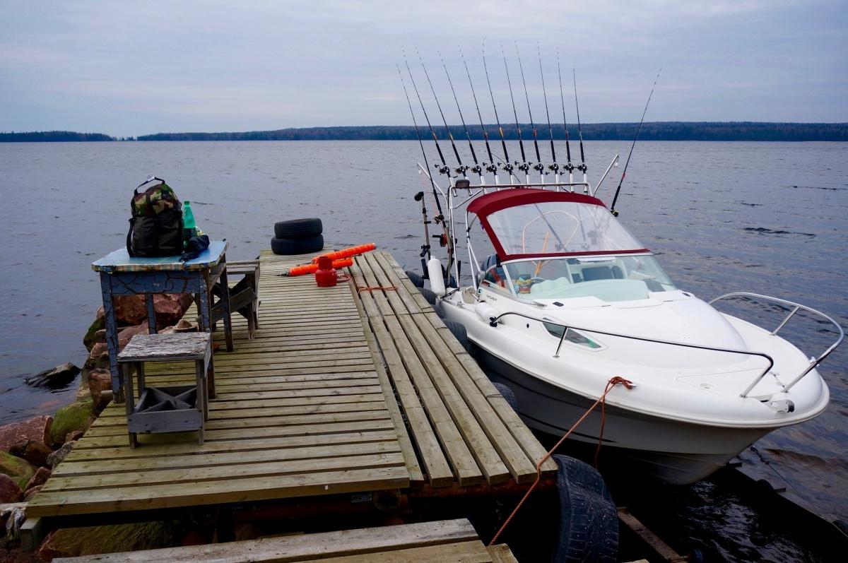 Рыбалка на онежском озер
